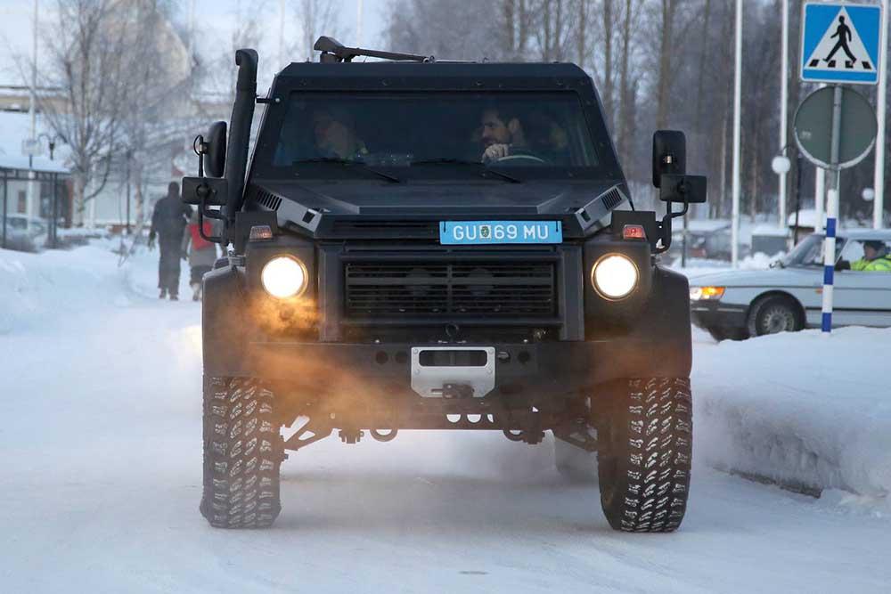 Дозорный военный автомобиль на базе G500 4×42