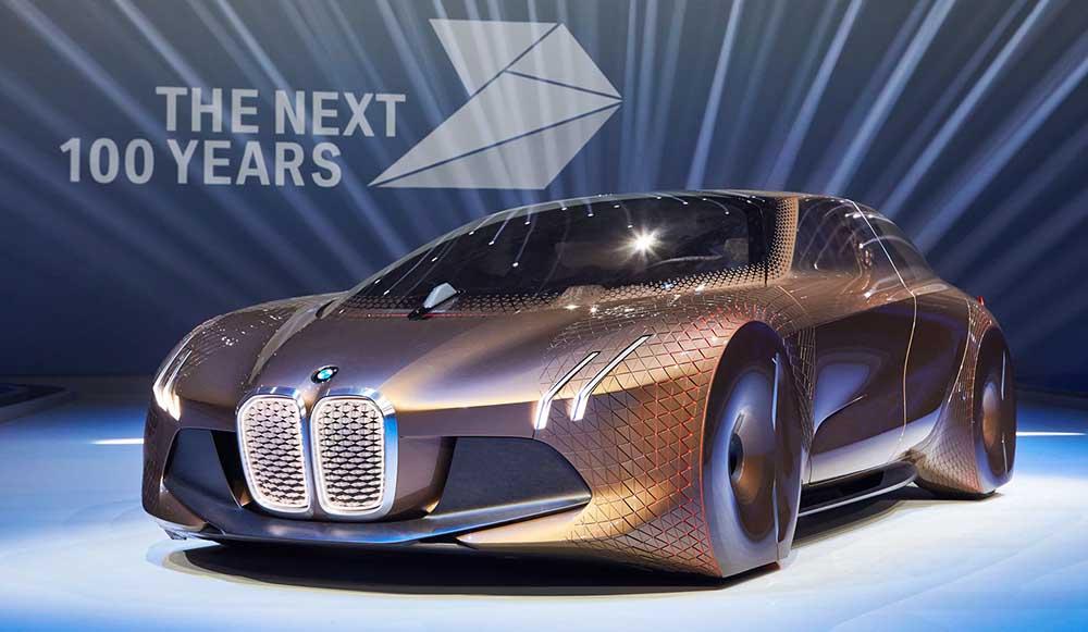 Концепт BMW Vision Next 100 приурочен к 100-летнему юбилею компании