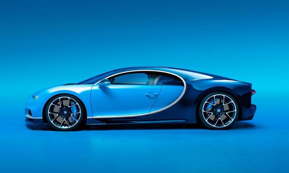 Представлен Bugatti Chiron — более быстрый и мощный преемник Veyron