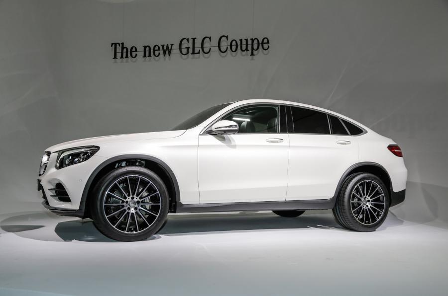 Купе Mercedes-Benz GLC продемонстрировано на автошоу в Нью-Йорке