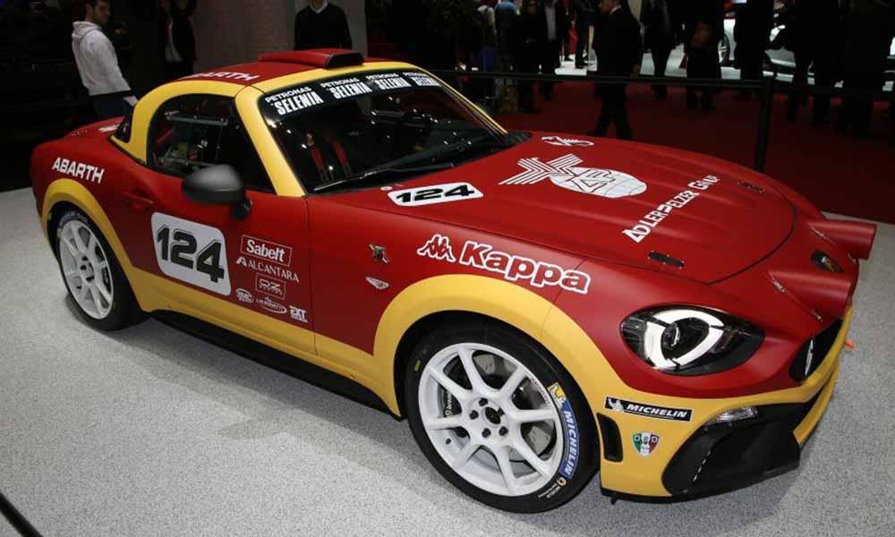 Версия 124 Rally имеет двигатель с мощностью 300 л. с.