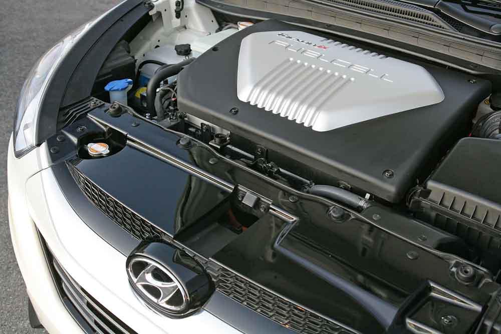 Силовая установка авто на водородных элементах