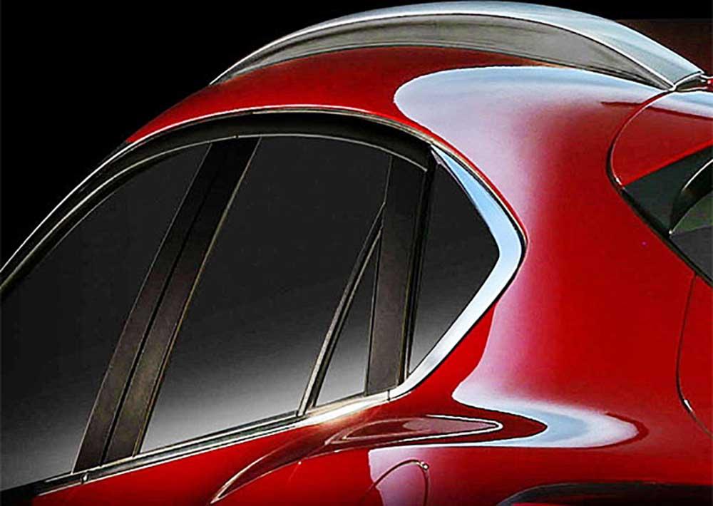 Тизерное изображение новой Mazda CX-4