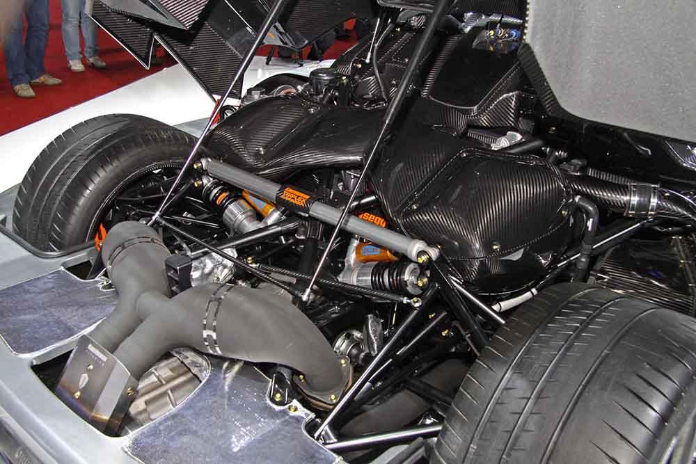 Двигатель шведского суперкара, готового показать лучший результат скорости в Нюрбургринге