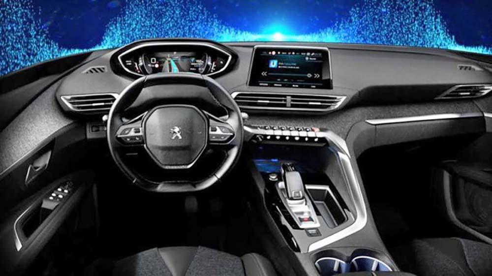 Интерьер Peugeot 3008 является инновационным
