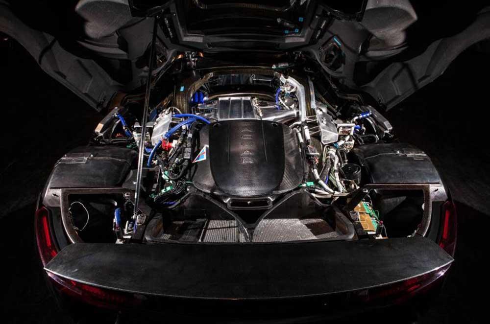 Под капотом концепта Jaguar C-X75