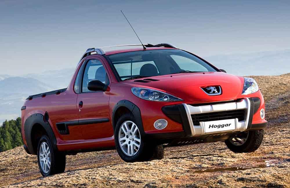 Новый пикап Peugeot Hoggar