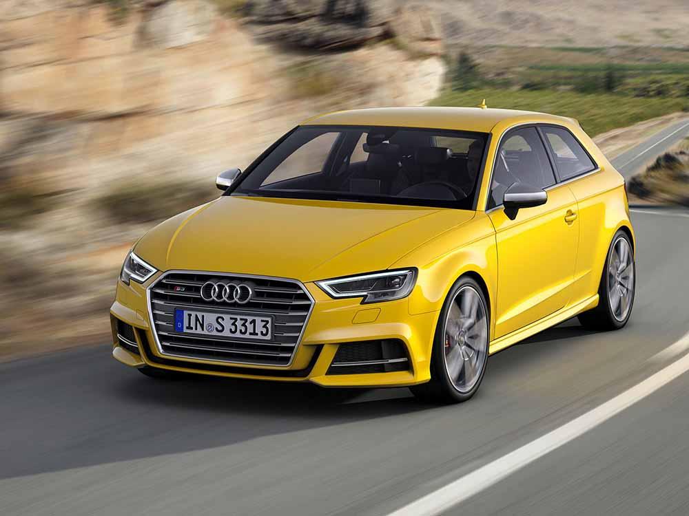 Обновлённый Audi A3