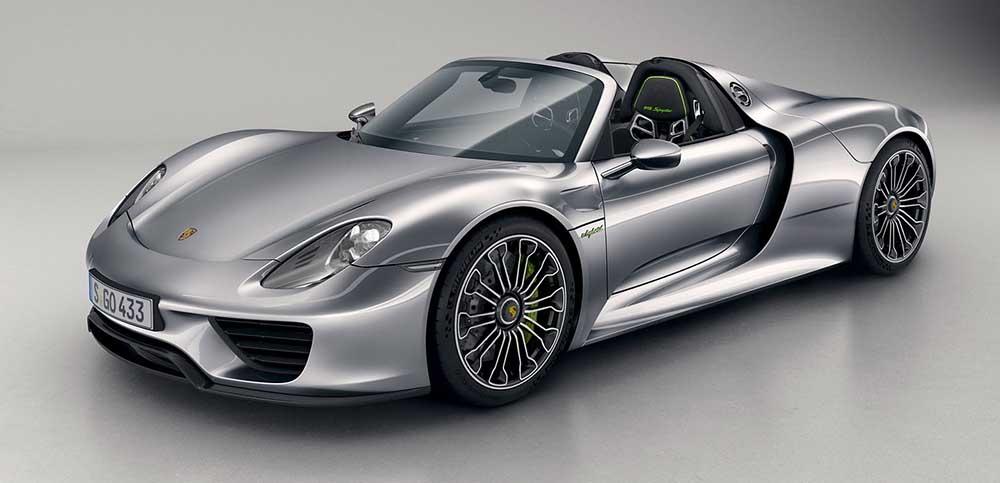 Спорткар Porsche