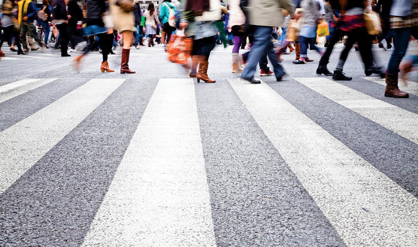 Правила дорожного движения для пешеходов. Нарушение пдд пешеходом (6000)
