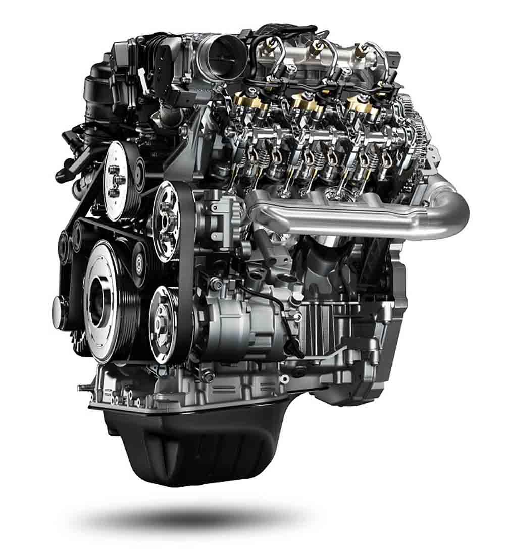 Основным нововведением является шестицилиндровый мотор