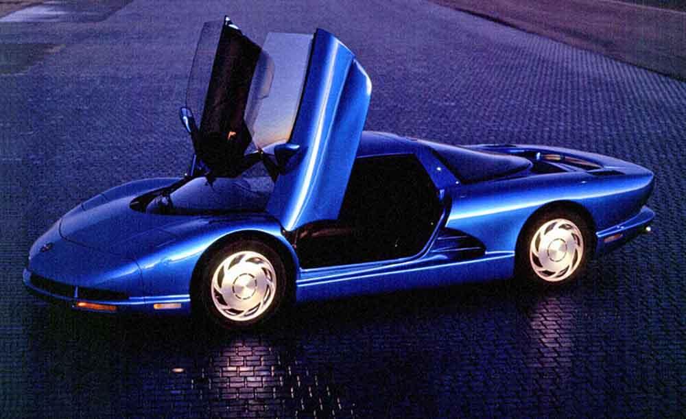 Тип открытия дверей Corvette