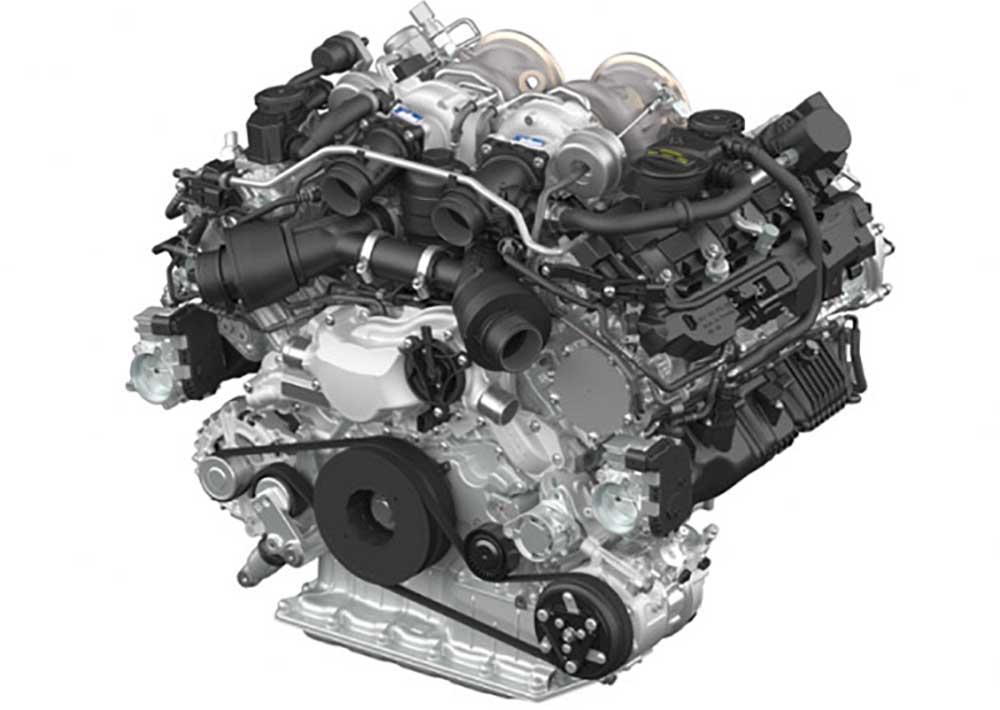 Восьмицилиндровый двигатель внутреннего сгорания