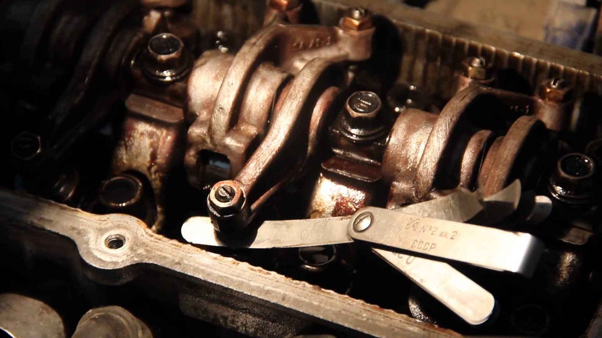 Стук клапанов на горячем или холодном двигателе (5000)