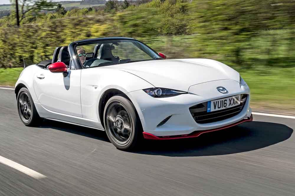 Новый выпуск с ограниченным тиражом Mazda MX-5 Icon