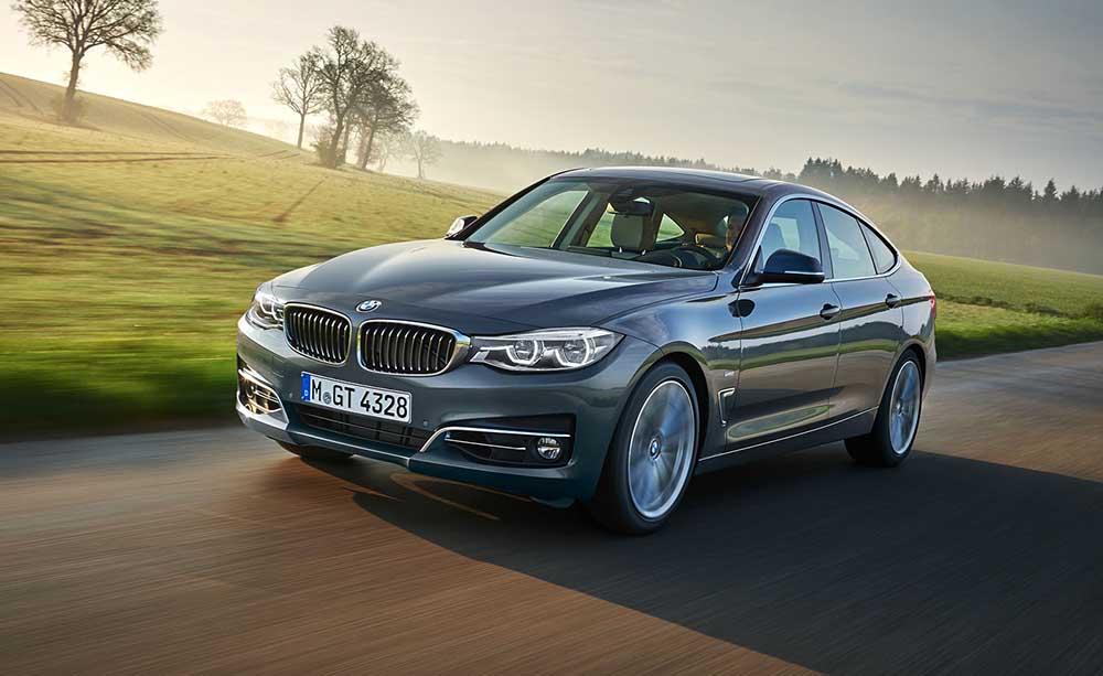 Обновился BMW 3 GT