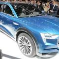 Первый кроссовер Audi на электроприводе будет основан на концепте e-tron quattro, продемонстрированном на прошлогоднем автошоу во Франкфурте-на-Майне