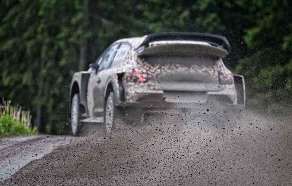 Трассы Финляндии одни из лучших в мире для такого рода дорожных испытаний