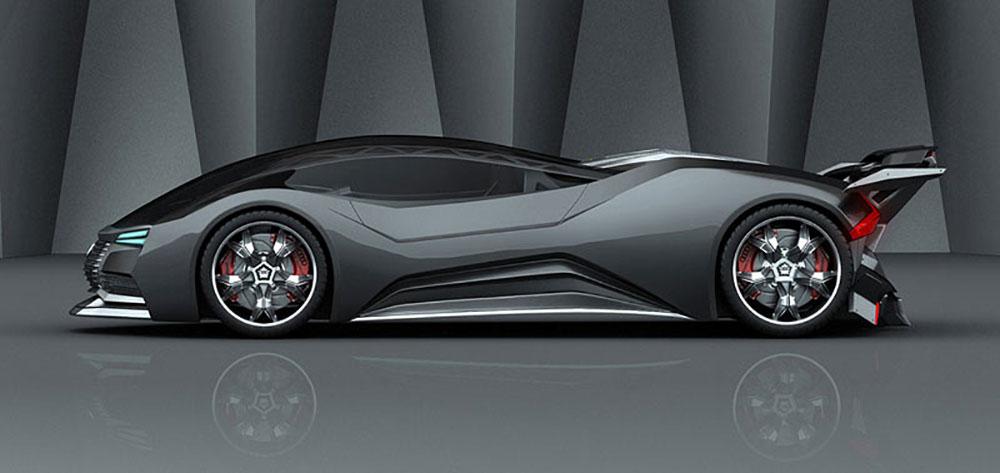 В целом идея Audi Mesarthim F-Tron Quattro и выглядит футуристической