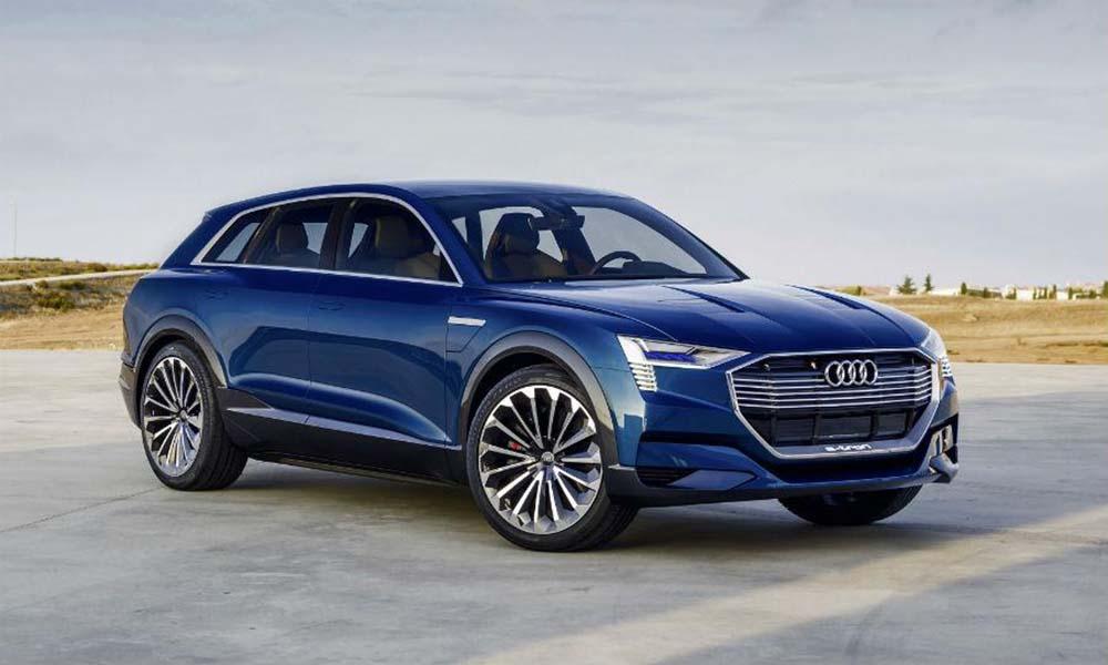 Концепт Audi e-tron quattro создаёт чёткое представление, как будет выглядеть первый кроссовер компании с питанием от батарей