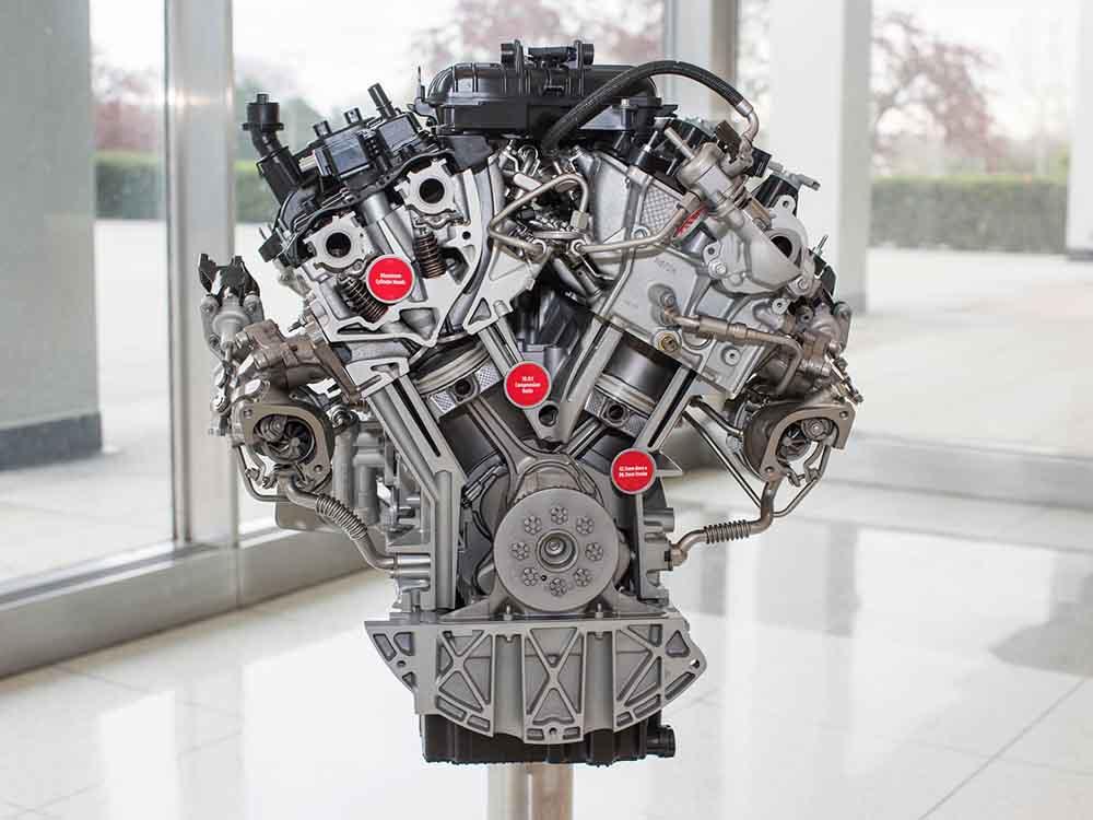 Модернизованный двигатель с рабочим объёмом 3,5 л