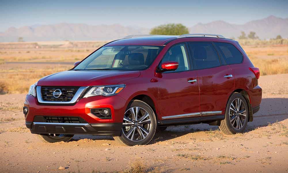 Обновлённый Nissan Pathfinder 2017 модельного года