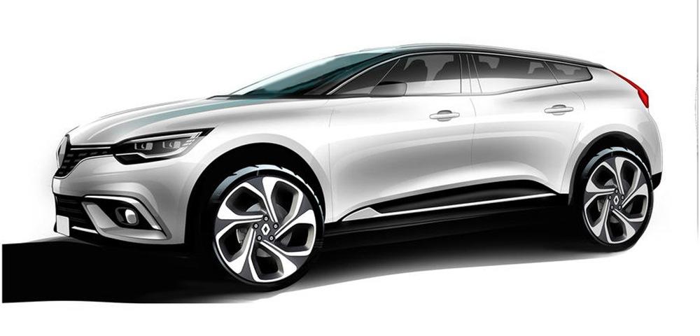 Renault планирует новый кросс-купе