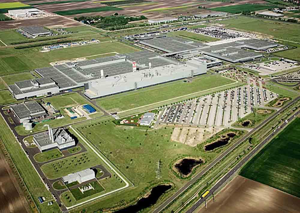 Завод по производству Mercedes-Benz в Венгрии