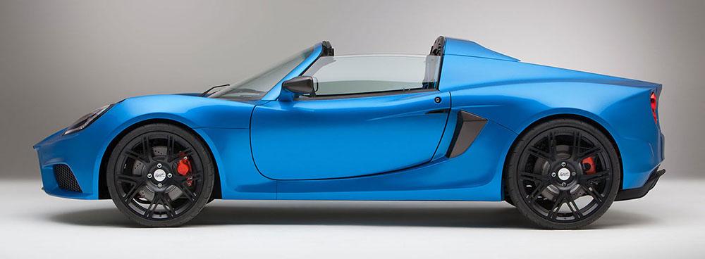 Спорткар SP:01 создан на основе Lotus