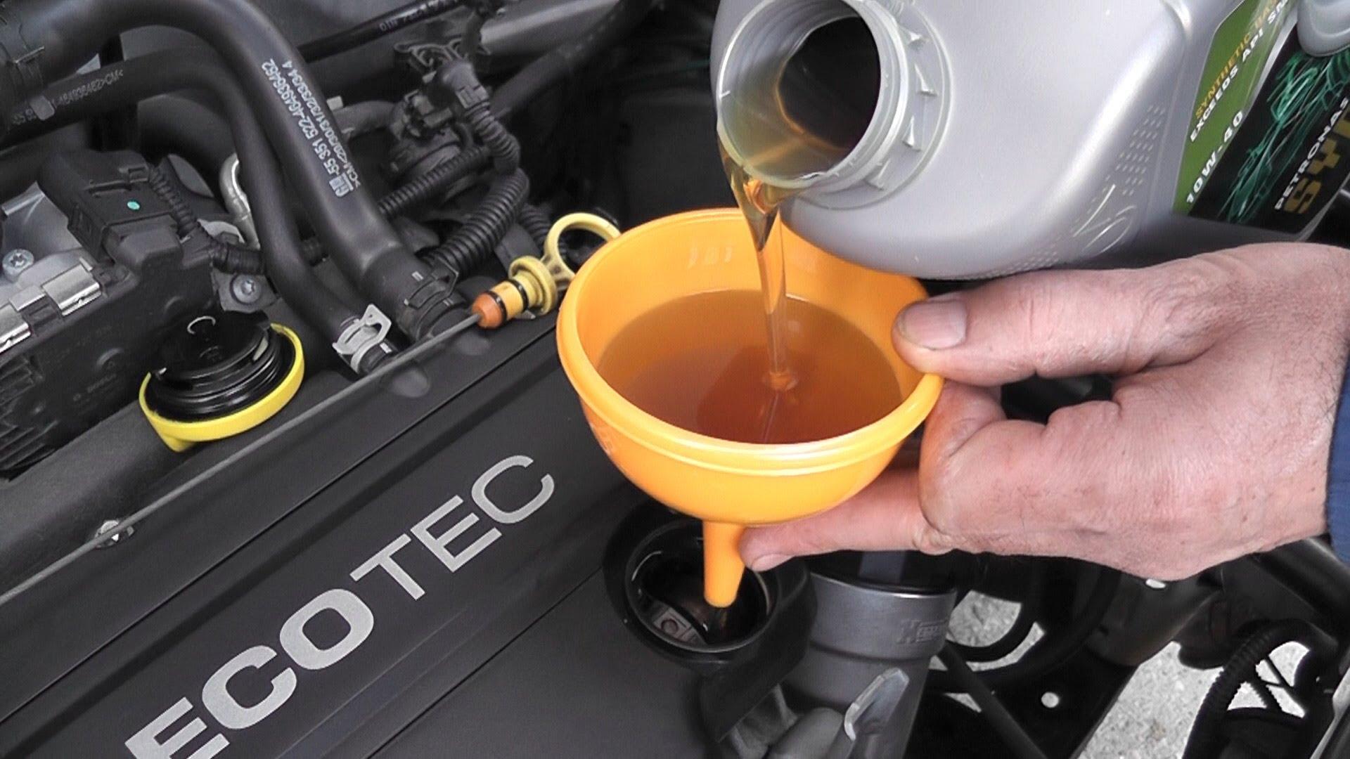 Что будет если залить антифриз в масло