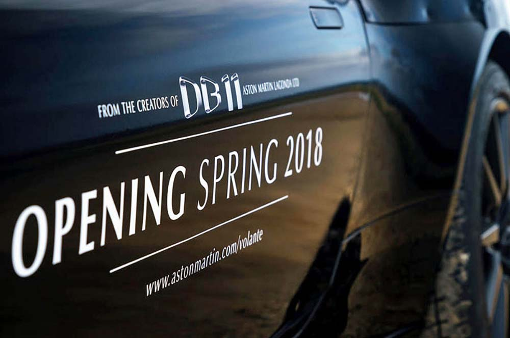 Надпись «открытие весной 2018 года»
