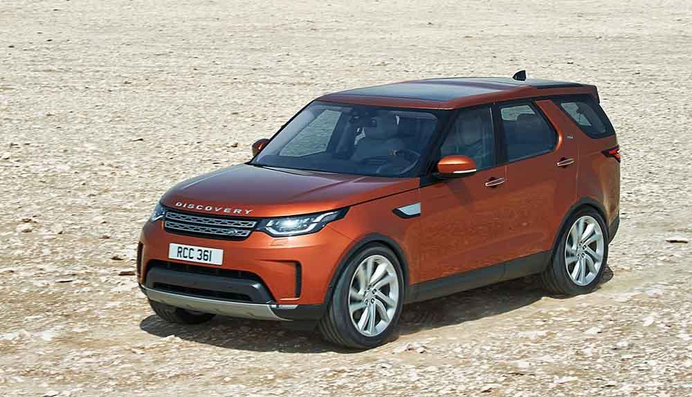 Пятое поколение Land Rover Discovery