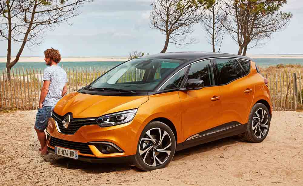 Renault Scenic четвёртого поколения