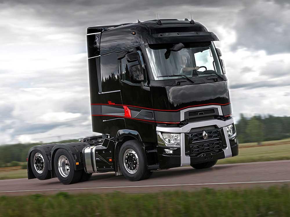 Новая серия Renault Trucks T