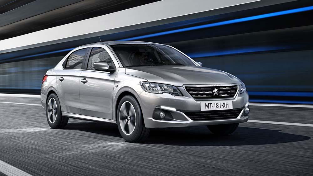 Обновлённый Peugeot 301
