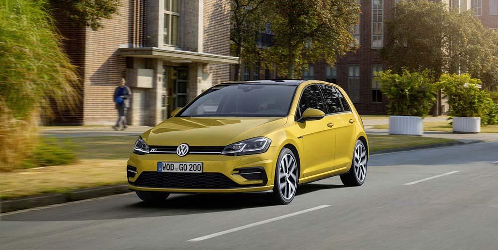 Обновлённый Volkswagen Golf