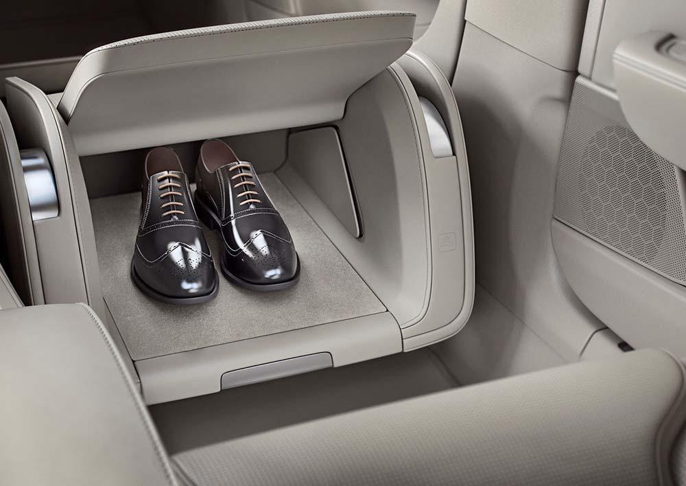 Отсек для хранения обуви