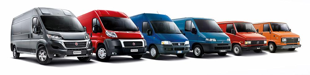 Все шесть поколений авто