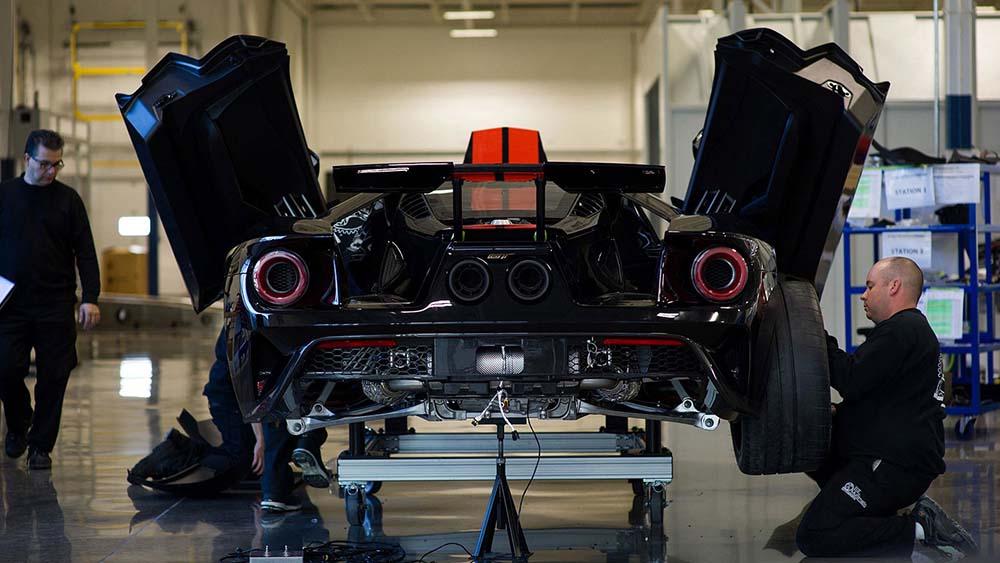 Сборка Ford GT