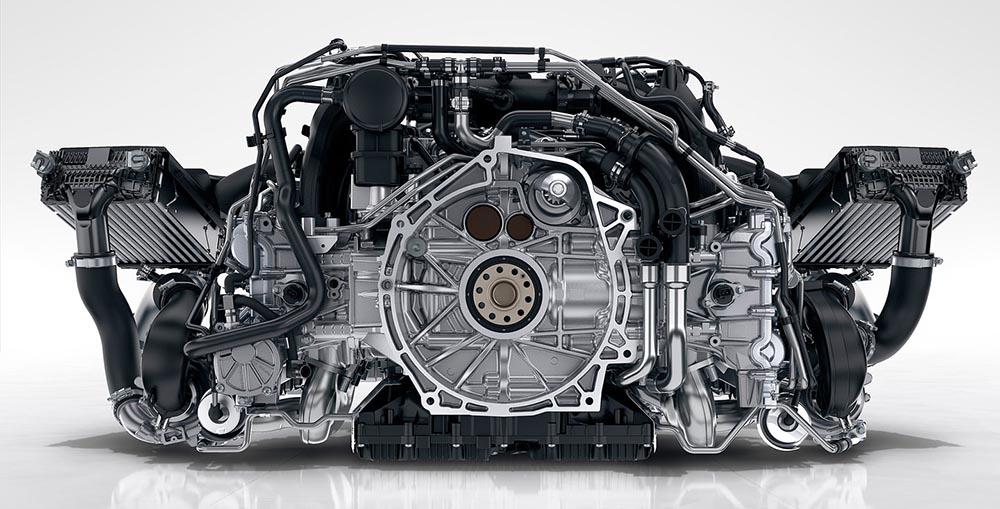 Силовой агрегат спорткара