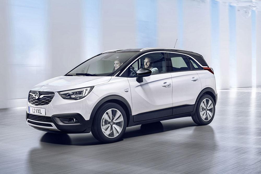 Новый Opel Crossland X