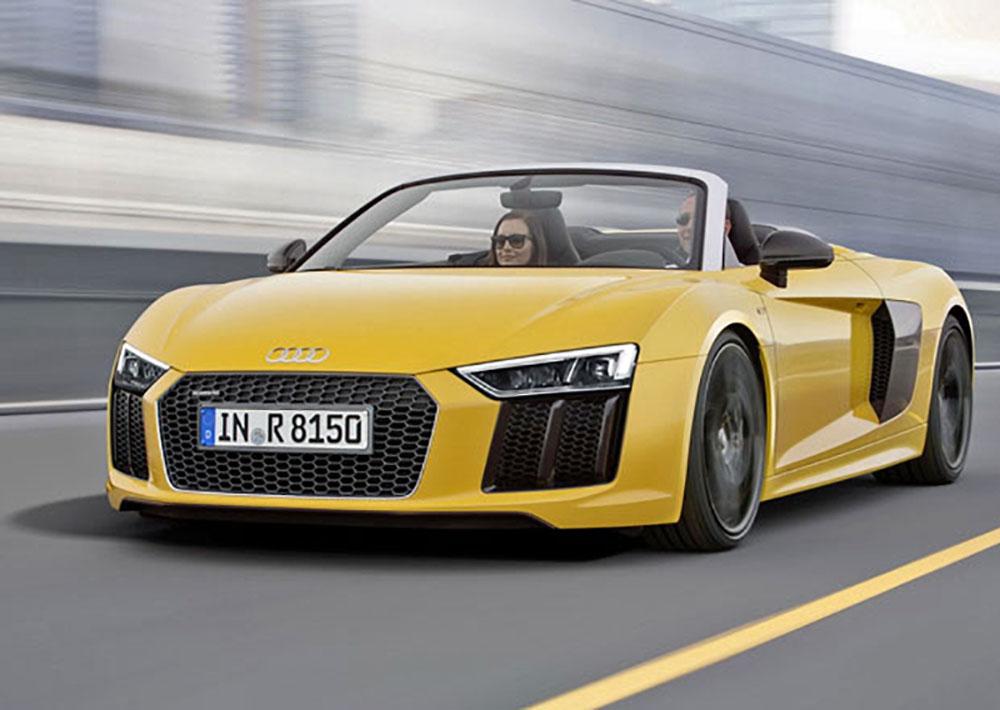 Гиперкар Audi в кузове кабриолет