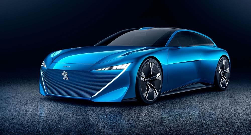 Концепт Peugeot Instinct
