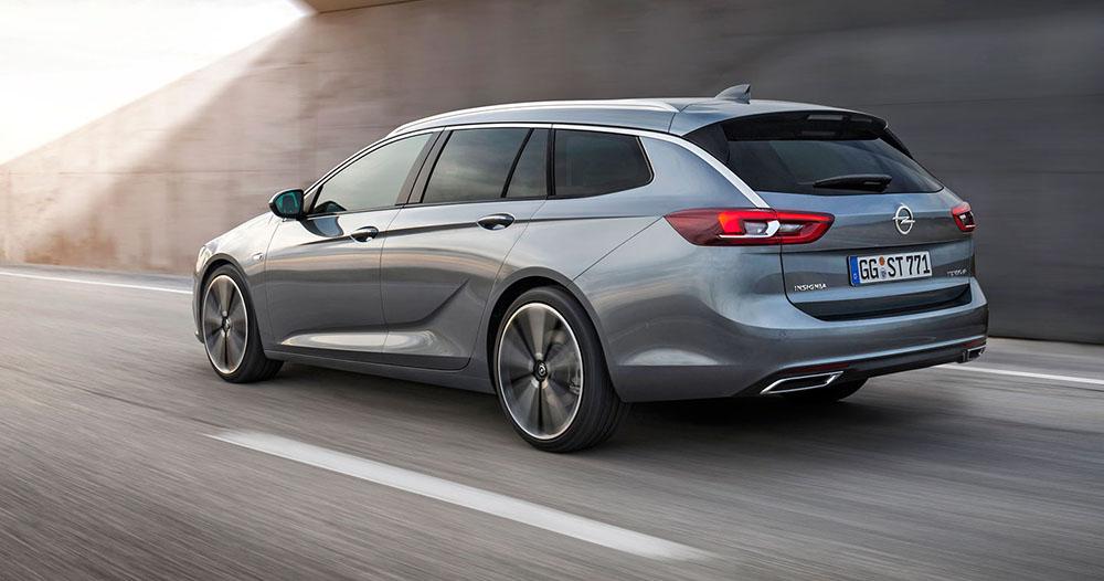 Opel Insignia Sports Tourer выглядит превосходно