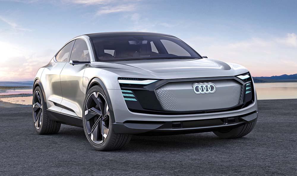 Новый электромобиль Audi e-tron Sportback