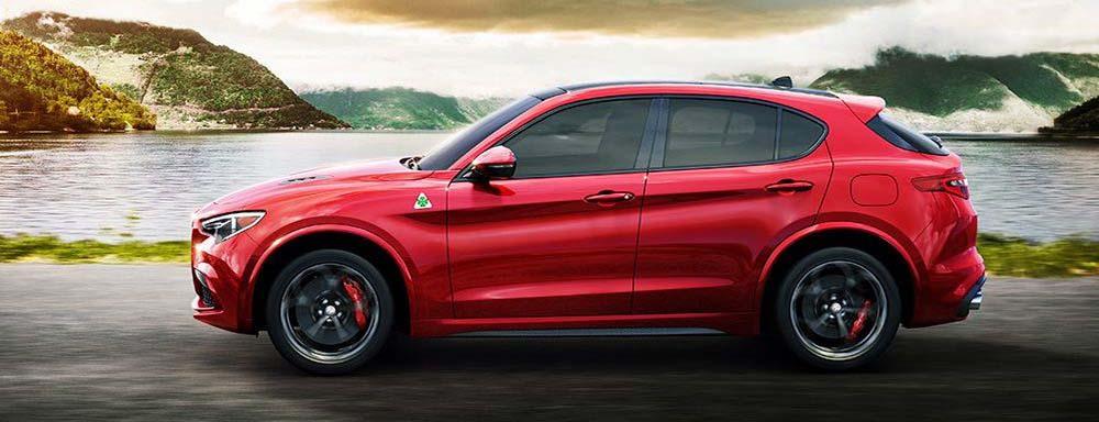 Кроссовер Alfa Romeo Stelvio