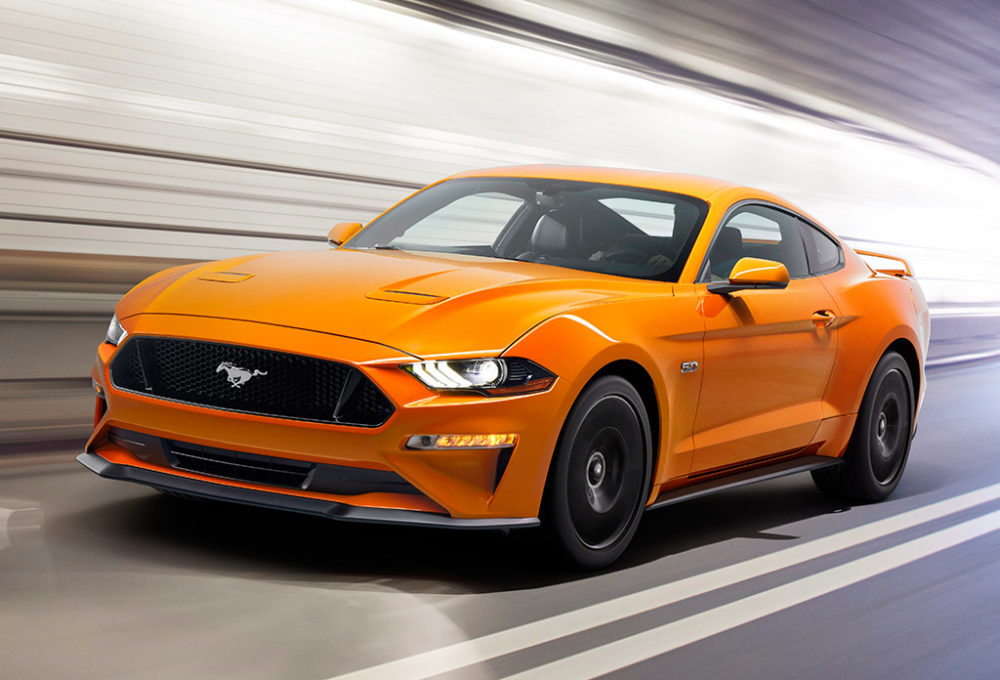 Ford Mustang после рестайлинга