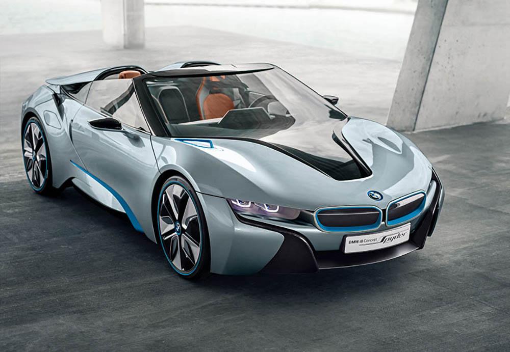 Кабриолет BMW i8 Spyder