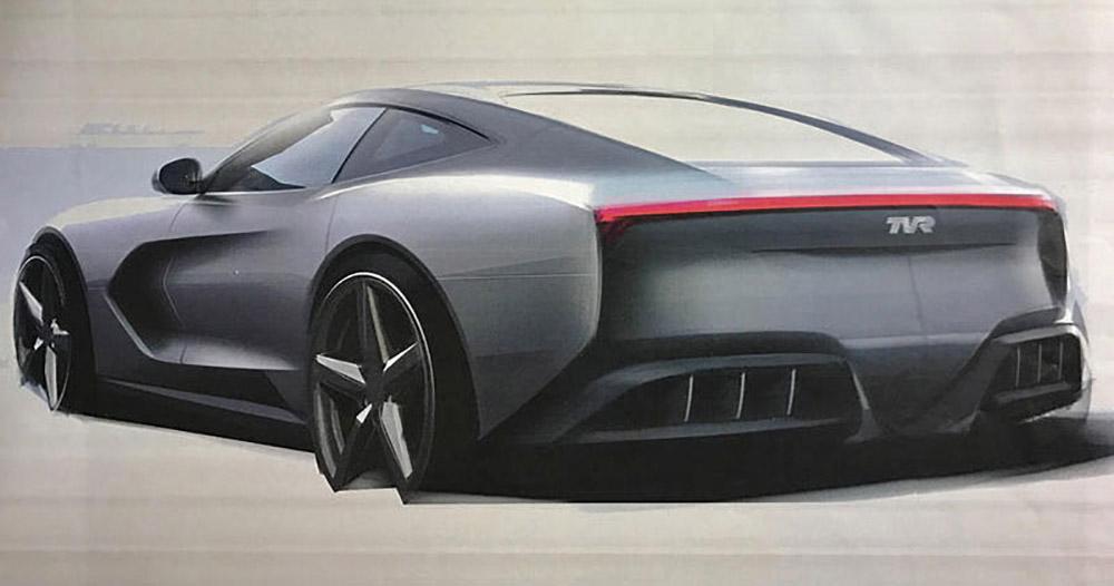Один из опубликованных эскизов нового автомобиля