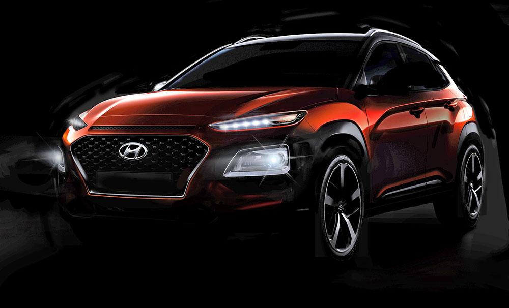 Кроссовер Hyundai Kona
